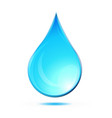 water tear rain drop icon logo vector image