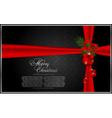 christmas new year holidays vector image