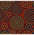 Australian aboriginal colorful geometric art vector image