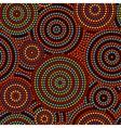 Australian aboriginal colorful geometric art vector image vector image
