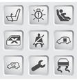 Dashboard icons set 5 vector image vector image