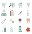 dentist icon vector image vector image