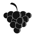 mellow grape icon simple style vector image