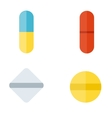 Tablet pills vector image
