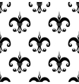 Vintage fleur de lys pattern vector image vector image