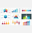 arrows infographic diagram chart graph vector image