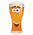 cartoon lager beer character vector image