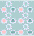 cute seamless pattern in retro style round shapes vector image
