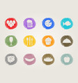 Food deli icons