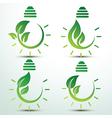Green idea vector image vector image
