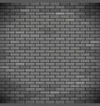 grey brick wall industrial construction vector image vector image