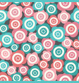 pretty floral tossed seamless repeat vector image vector image