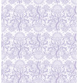 seamless lilac lace vector image