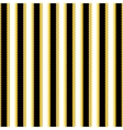 Yellow black and white stripes geometrical vector image vector image
