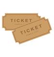 Tickets vector image