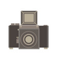 camera retro vintage old photography photo film vector image