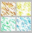 colored abstract diagonal stripe pattern vector image vector image