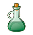 oil bottle icon cartoon style vector image vector image