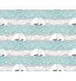 Seamless boat and sea patte vector image vector image