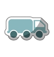 truck oil transport isolated icon vector image vector image
