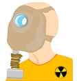 Persons in gas mask vector image