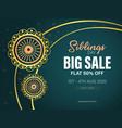 big sale raksha bandhan vector image vector image