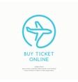 Byu ticket online vector image