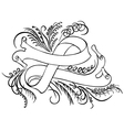 calligraphy band vector image