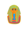 cartoon of ancient egyptian pharaoh vector image vector image
