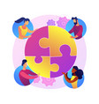 human relations abstract concept vector image vector image