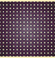 seamless geometric pattern on purple background vector image