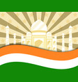 26 january republic day india celebration poster vector image