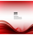 abstract red background with geometric pattern of vector image vector image