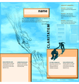 business help template vector image vector image