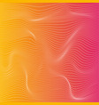 color stripe deformation background vector image