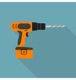 flat screwdriver vector image vector image