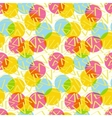 Pattern abstract color with circles vector image