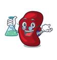 professor spleen character cartoon style vector image vector image