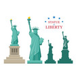 statue liberty new york vector image vector image