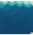 Wavy Grid Background Mosaic vector image vector image