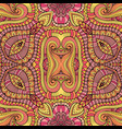 Abstract decorative ethnic seamless pattern