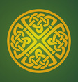 Celtic ornament symbol vector image vector image