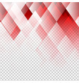 geometric elements red color abstract with vector image