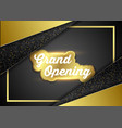 grand opening business ceremony vector image vector image