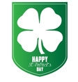 Happy Saint Patrick day vector image vector image