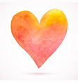 heart-pastel-one vector image vector image