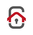 smart home icon element for cards vector image vector image