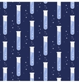 test tube glassware Chemistry pattern vector image