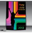 Urban dance party flyer vector image vector image