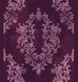 vintage baroque pattern background rich vector image vector image